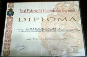 10º Nac. Velocidad y Medio Fondo 1998
